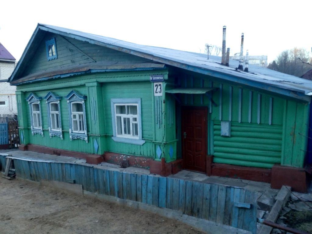 Владимир, Бакулинская ул, 23, дом деревянный с участком 13.00 сотка на продажу