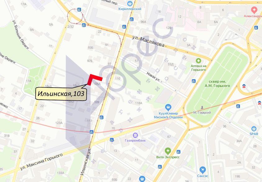 Продажа коммерческой недвижимости, 495м <sup>2</sup>, Нижний Новгород, Ильинская ул,  103