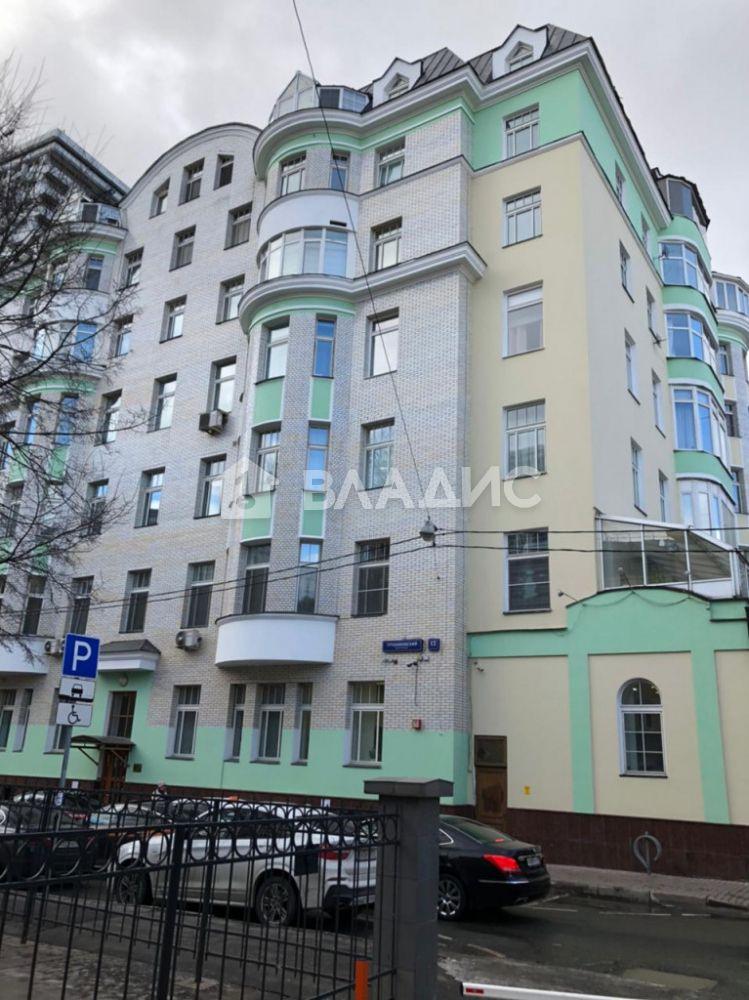 Аренда 3-комнатной квартиры, Москва, Трубниковский пер,  13С1